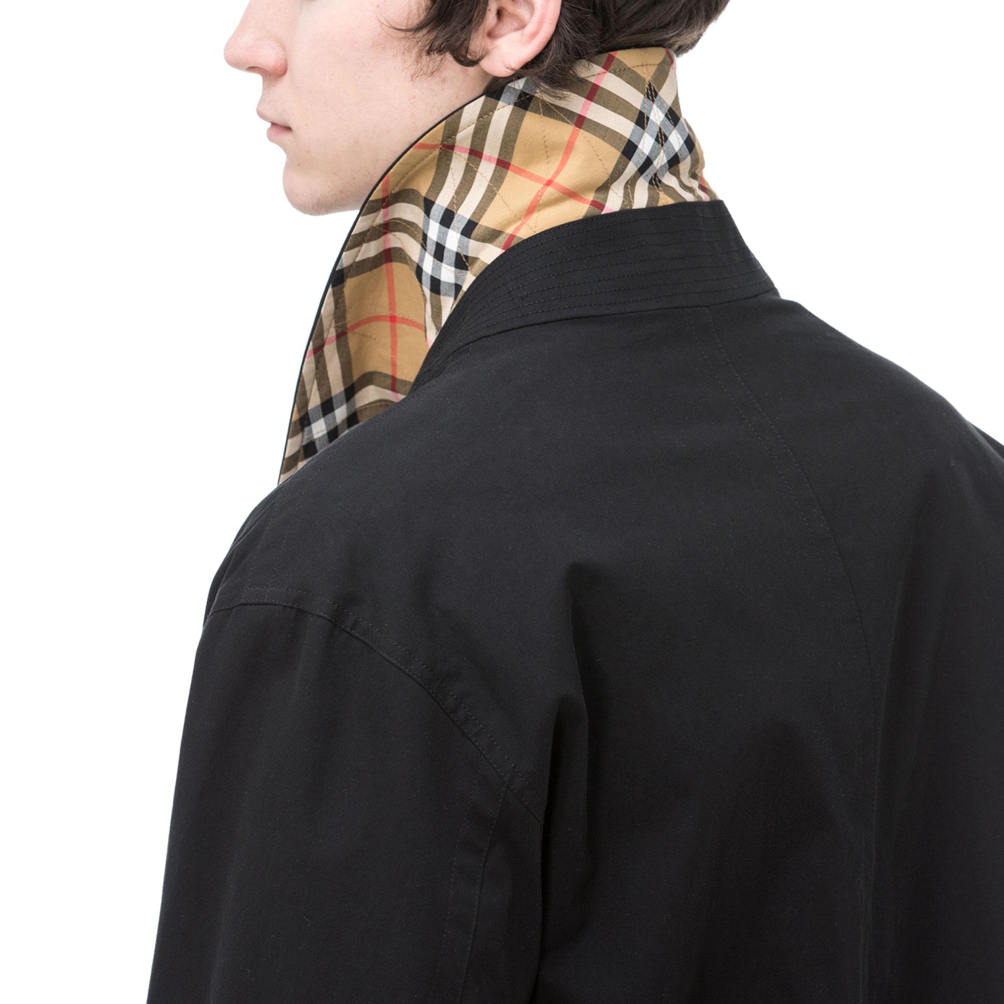 Burberry Erkek Siyah Mont